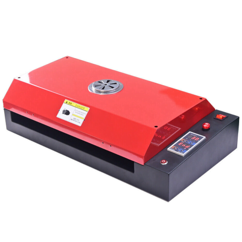 dtf powder curing oven