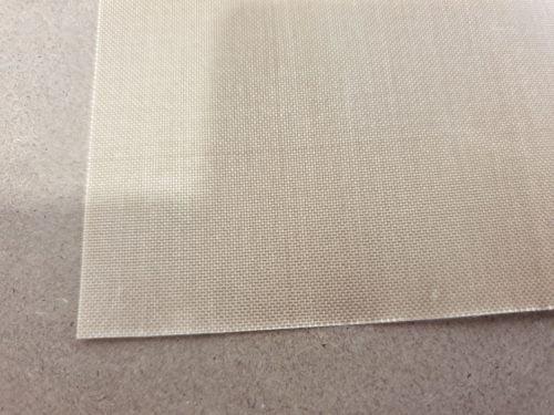PTFE sheet close up