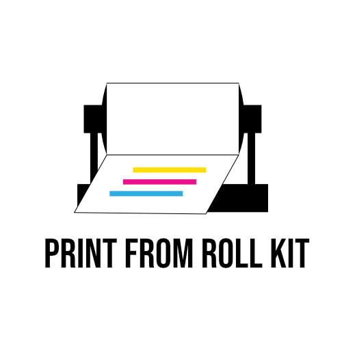 dtf roll holder and software