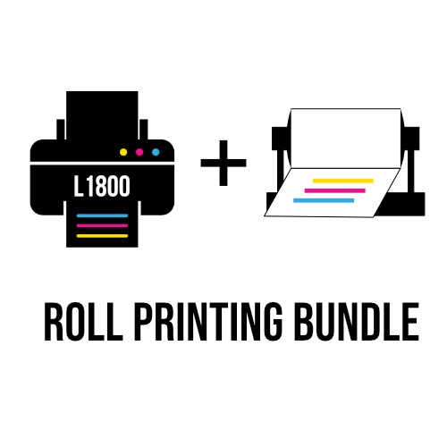 l1800 dtf printer with roll printing